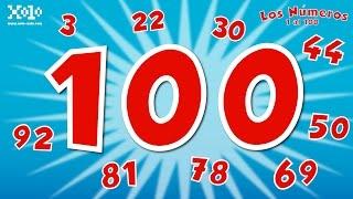 Los números del 1 al 100 en español para niños - Videos Aprende thumbnail