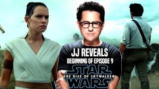 Star Wars The Rise Of Skywalker! JJ Abrams Reveals Beginning Of Episode 9! (Star Wars News)