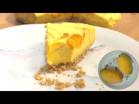 mango-cheesecake- -no-sugar- -no-bake- -no-mixer- -#cheesecake-#mangocheesecake