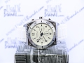 Caravelle New York unisex Analog Display Japanese Quartz White Watch