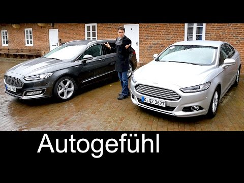 2016 Ford Mondeo/Fusion FULL REVIEW comparison 5door Titanium AWD vs Vignale estate Turnier