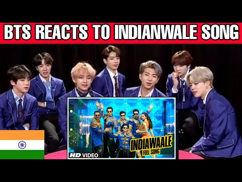 bts reaction to Bollywood songs  Indian wale happy new year  BTS reaction to Indian song   Korean tv