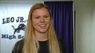 Brooke Smith full interview on signing with Louisville Volleyball on 11/13/19