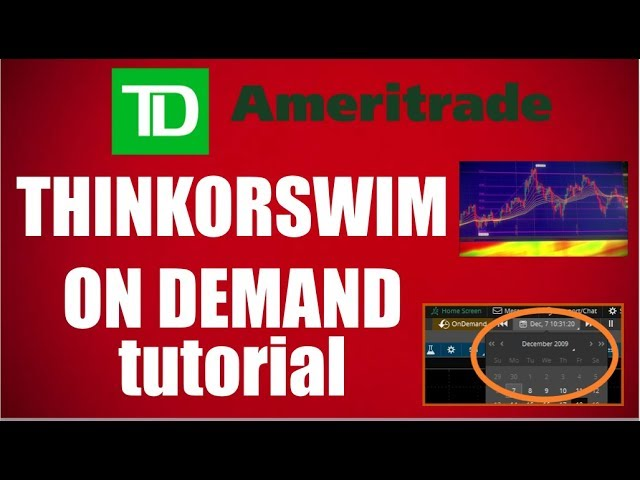 Thinkorswim On Demand Trading Tutorial For Beginners - Dailytube
