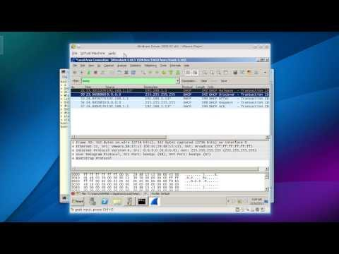 DHCP D.O.R.A packets analyze with Wireshark