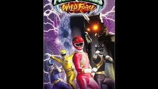 Opening to Power Rangers Wild Force: Curse of the Wolf 2002 VHS