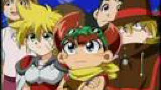 Battle B-Daman Fire Spirits ep.20,part 1 (English)