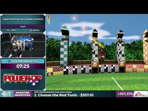 Harry Potter and the Chamber of Secrets by pok3monrocks in 0:50:07  SGDQ2016  Part 19