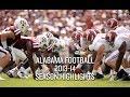 Alabama Football 2013-14 Season Highlights
