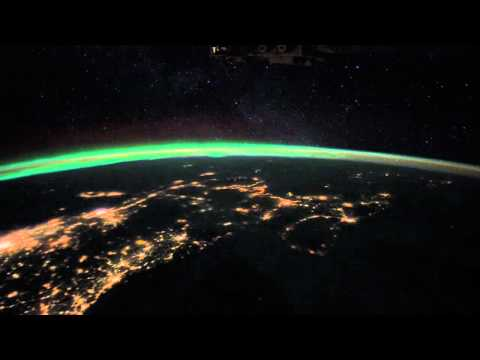 Over Earth: East Coast Light Show From Space