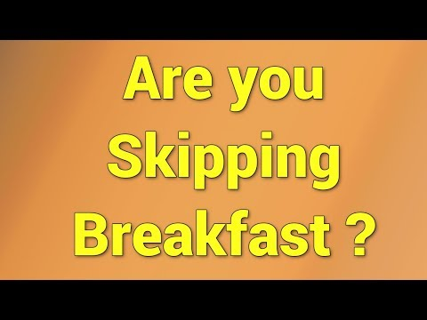 Skipping Breakfast May Be Linked To Poor Heart Health | QPT