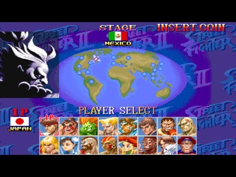 Hyper Street Fighter 2++ (hack) [Arcade] - play as Akuma