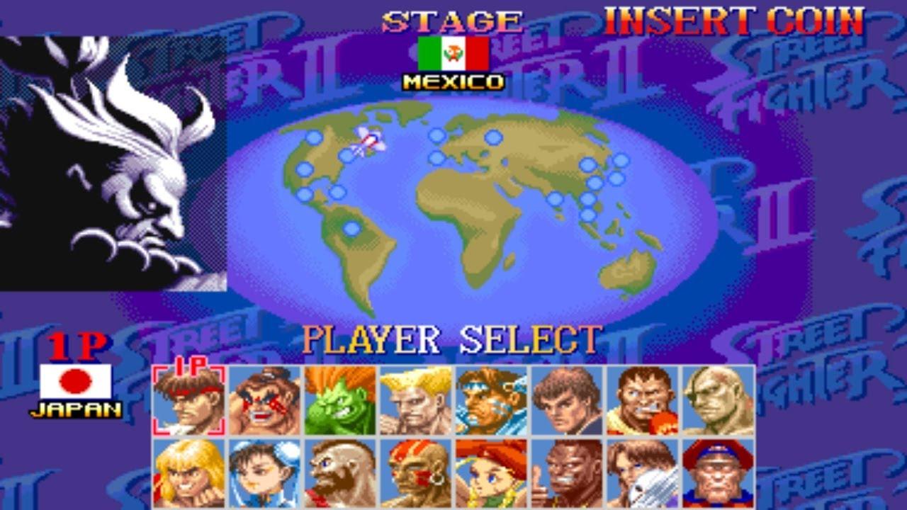 Hyper Street Fighter 2 Arcade Play As Akuma Youtube