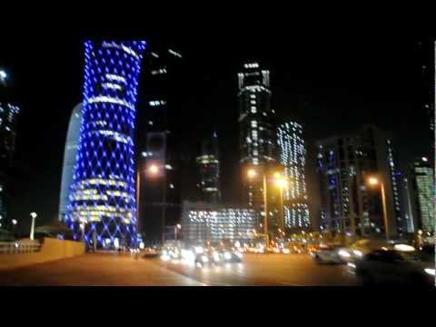 Doha, Qatar night