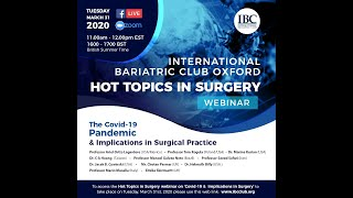 The Covid-19 Pandemic & Implications in Surgical Practice.