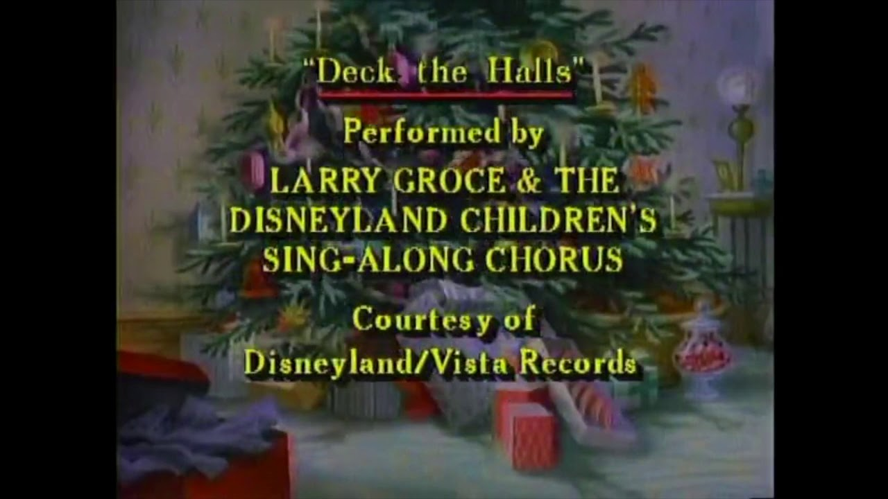 Disney's Very Merry Christmas Songs: We Wish you a Merry Christmas (Soundtrack) - YouTube