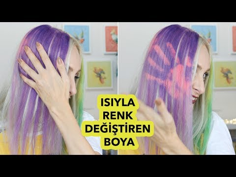 The first in the world ❗️ COLOR THAT CHANGES IN HAIR PAINT | Sabile Dies