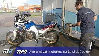 MR Tipy: Ako umývať motorku, na čo si dať pozor - motoride.sk