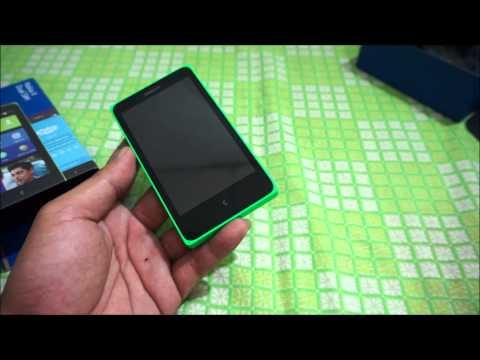 Nokia X Unbox แกะกล่องโนเกียเอ็กซ์