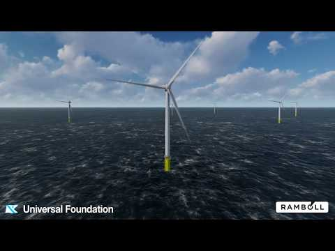 Virtual Reality for visualisation of offshore wind projects