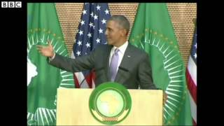 Obama warns African dictators in Ethiopia speech