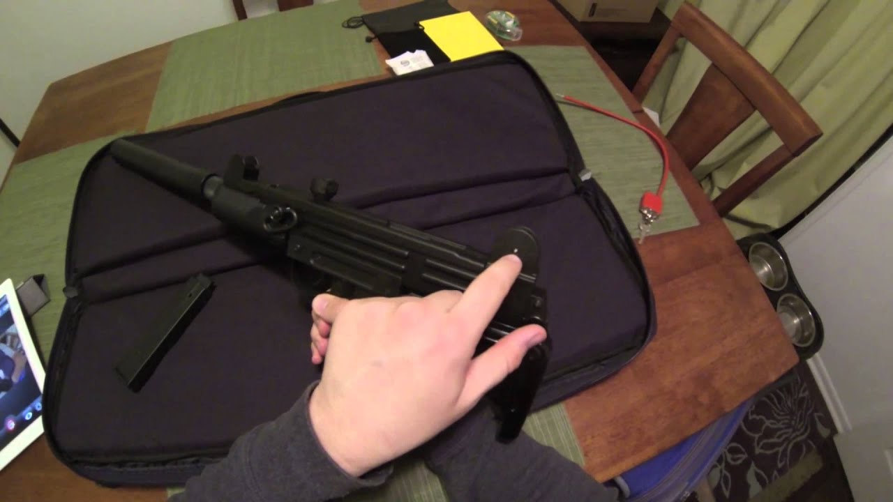 Umarex Uzi Rifle 22lr Iwi Disassemby And Review Youtube Schematic