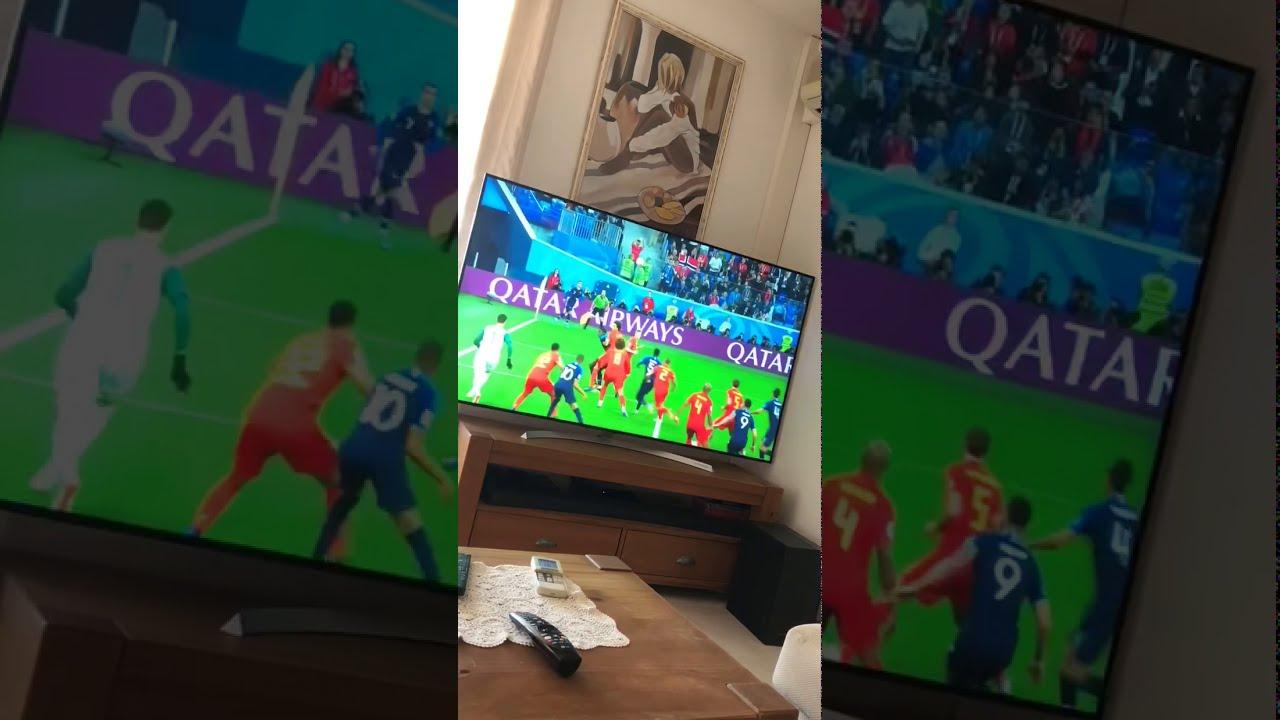 JT 13h TF1 La France en finale !!! - YouTube