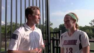 WSOC: Bellarmine 2, Hanover 0 (Exh.) - Coach Tinius & Mary Beth Gorham