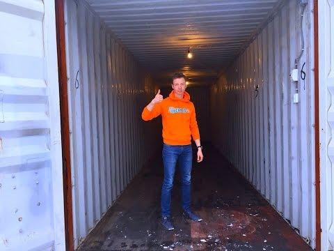 видео: Обзор 40 футового контейнера. Склад-24. Индивидуальное круглосуточное хранение в Москве