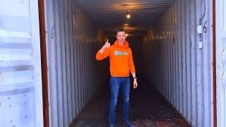 Обзор 40 футового контейнера. Склад-24. Индивидуальное круглосуточное хранение в Москве