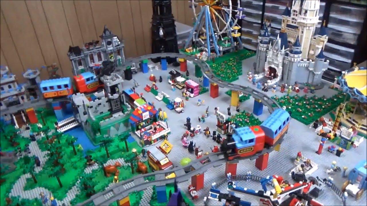 Lego Disney World Update Duplo Train Youtube