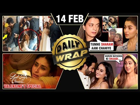 Rangoli INSULTS Ranbir - Alia, Love Aaj Kal REVIEW, Sara Lifts Kartik | Top 10 News