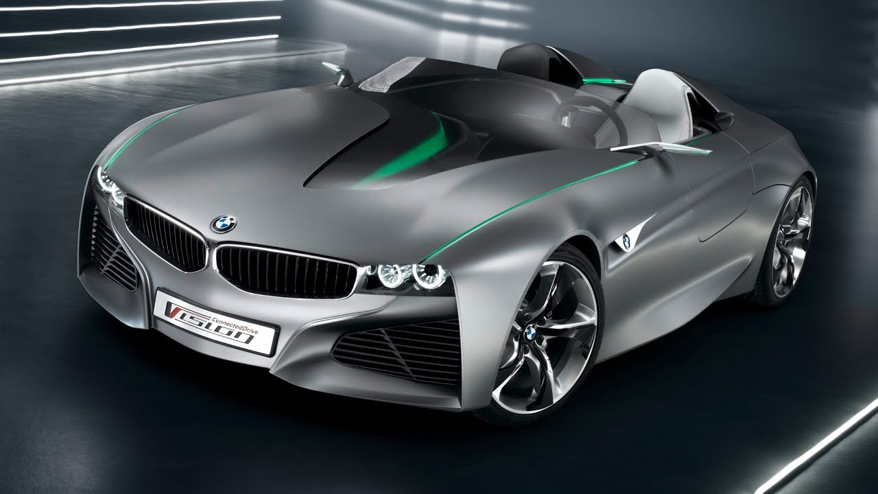 BMW New Vision Drive Car YouTube - All new bmw cars