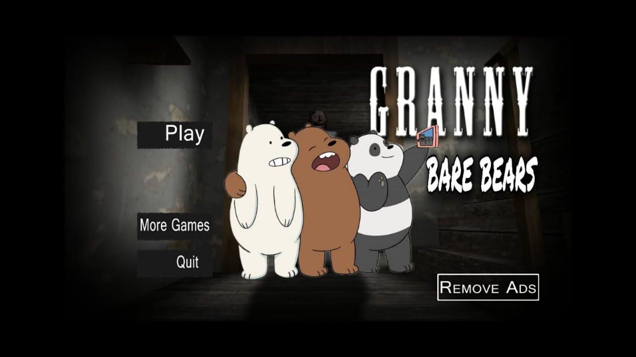 جراني تحولت لي دببة تلاتة 🐻👹what if granny was bear bears horror game grany garnny