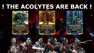 Warframe - The Acolytes Are Back Again
