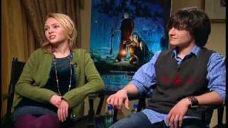 Bridge to Terabithia Anna Sophia Robb and Josh Hutcherson