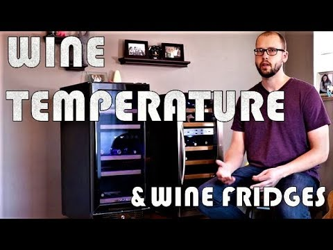 Proper Wine Temperature and How to Select a Wine Fridge