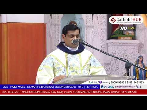 SUDAY HOLY MASS | ST.MARY'S BASILICA | SEC BAD | HYD | TS | INDIA | 03-05-2020