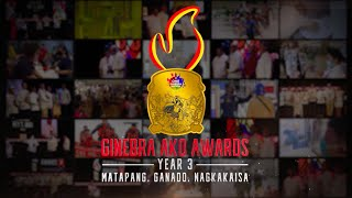 GAA Year 3 Nomination