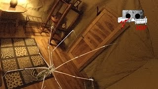360° Horror Short | Giant Spiders | Cardboard Horror #360video