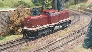 BR 112 von Roco in Spur TT