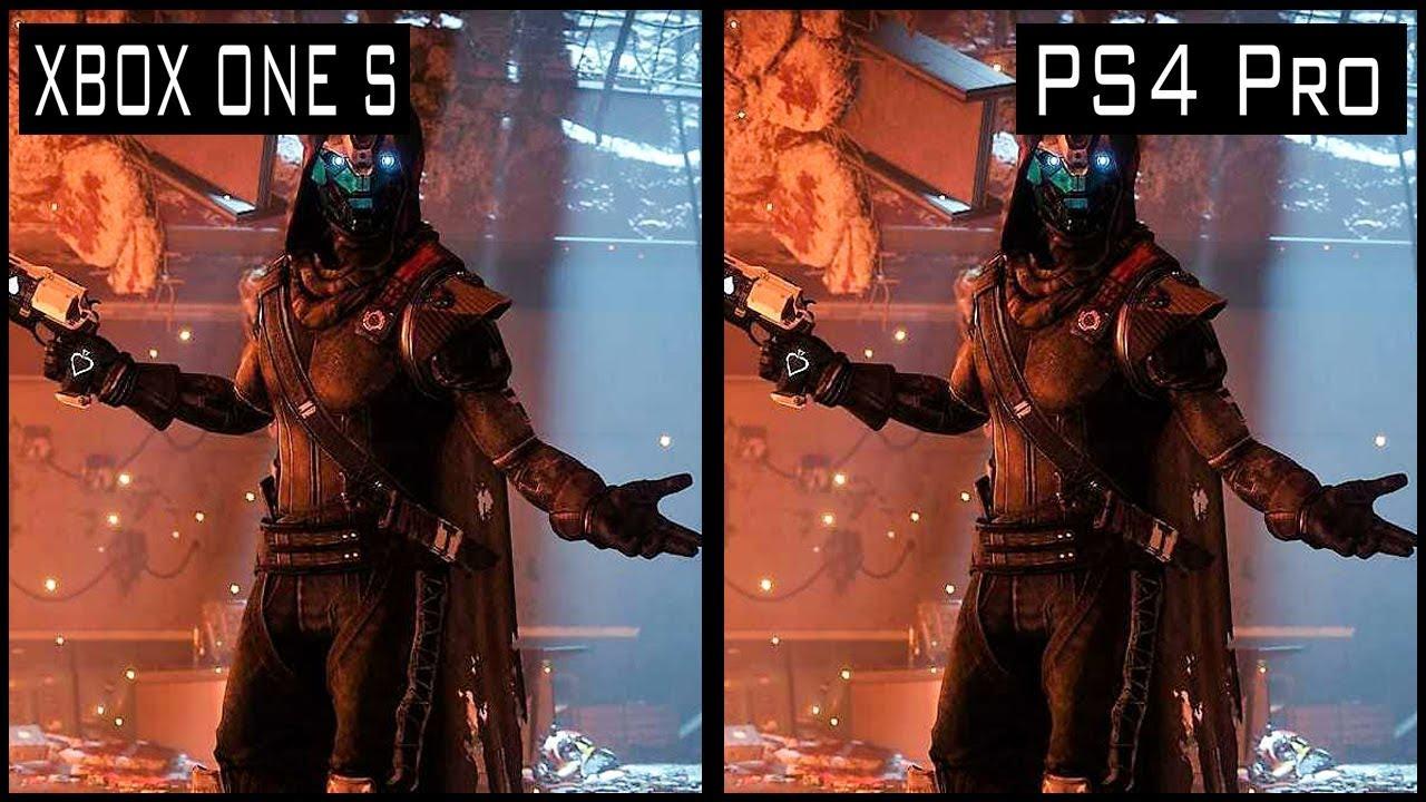 Destiny 2 PS4 Pro vs Xbox One s Graphics Comparison - YouTube