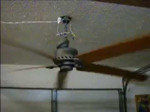Emerson 80 Inch Bent Blade Ceiling Fan Youtube
