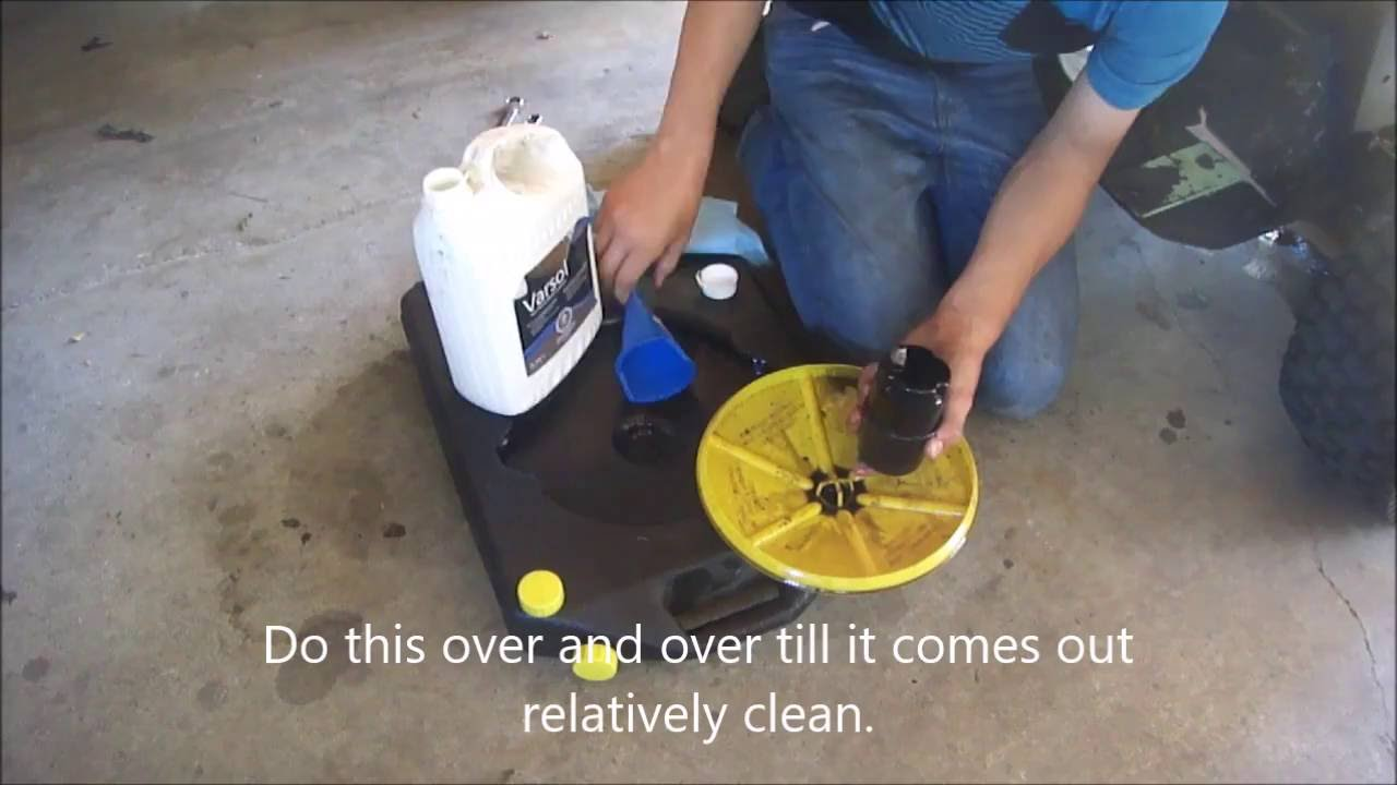 small resolution of ford lgt 125 engine hyrdostat oil changes and filter