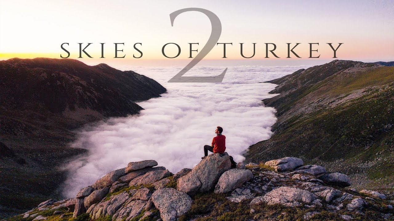 Skies of Turkey 2  (Best Places of Turkey) Aerial 4k Drone