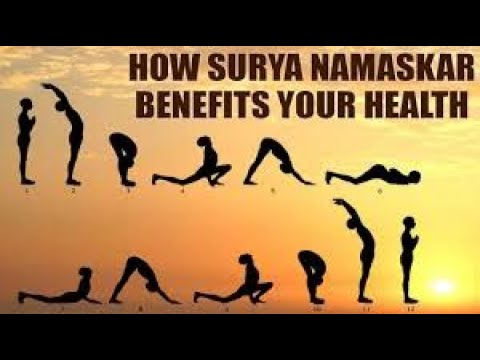 surya namaskar  benefits of surya namaskar  youtube