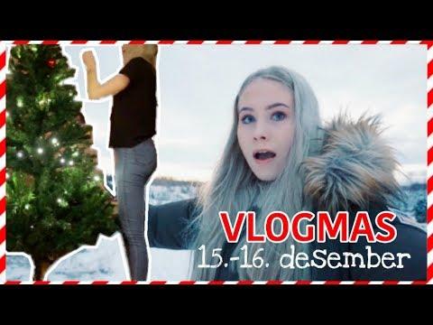 VLOGMAS #3 | følelsen av frihet + juletre og shopping