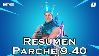 Résumé Patch 9.40 In Fortnite Save The World