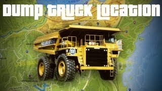 GTA V - Tonka Truck Location | BIGGEST VEHICLE