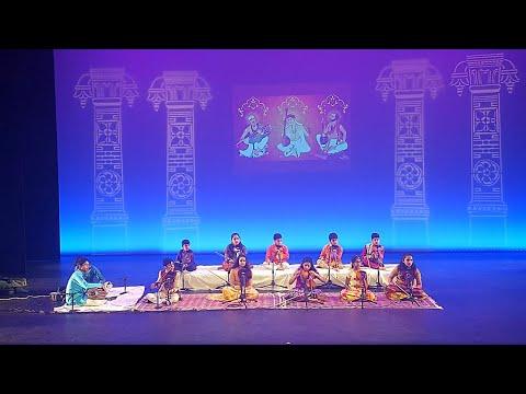 Indian(NRI) Kids Carnatic Music Violin Performance | USA | South Indian Classical Music